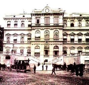 Beyoğlu Belediyesi eski hali