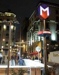 Şişhane metro durağı