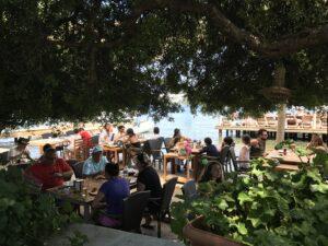 Galimera gündüzleri Beach Club olarak hizmet veriyor