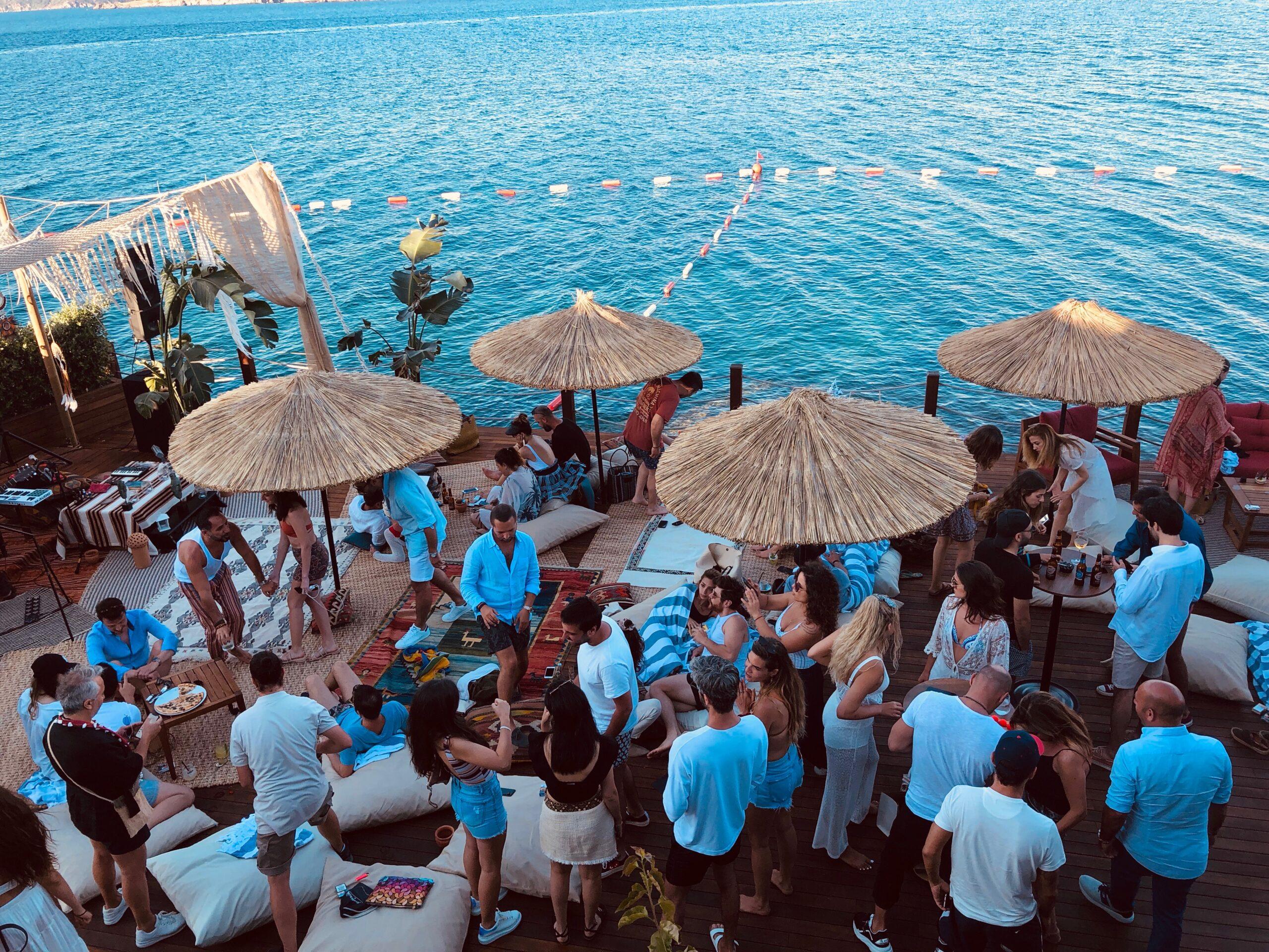 bodrum beach clublar