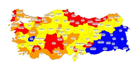 covid haritası